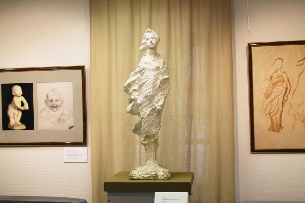 """Скульптура из гипса """"Березка"""""""