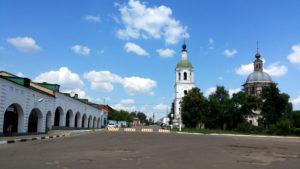 Троицкая площадь и Троицкая церковь