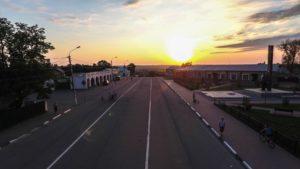 Закат на Советской улице