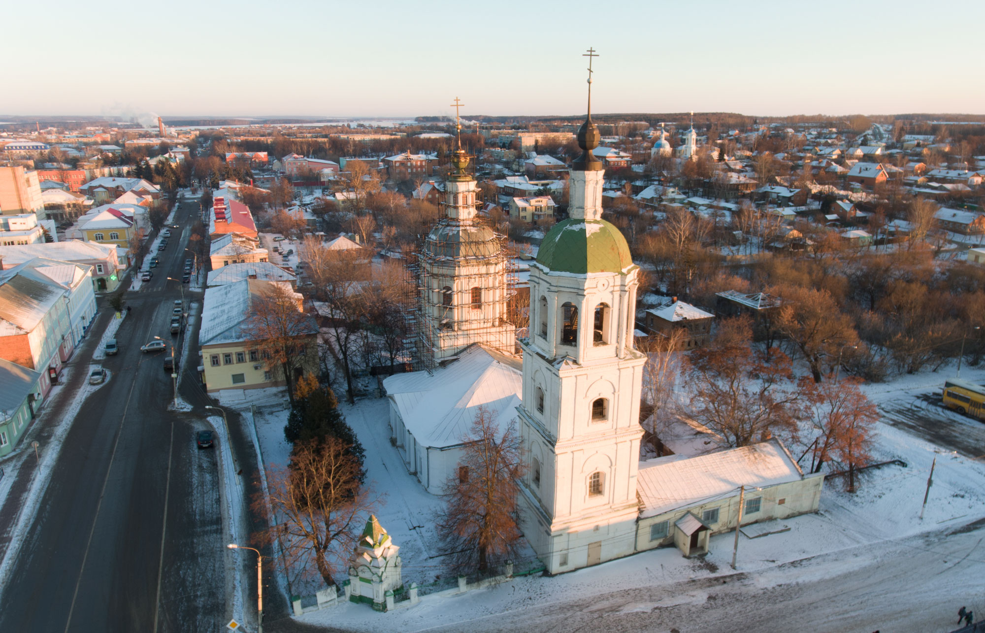 Троицкая церковь зимой